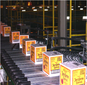 Pennsylvania Liquor Control Board Distribution Center Conveyor