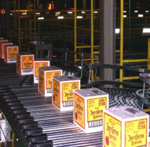 Pennsylvania Liquor Control Board Distribution Center Conveyor