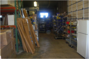 Warehouse disarray at The Presidio Trust before LCI